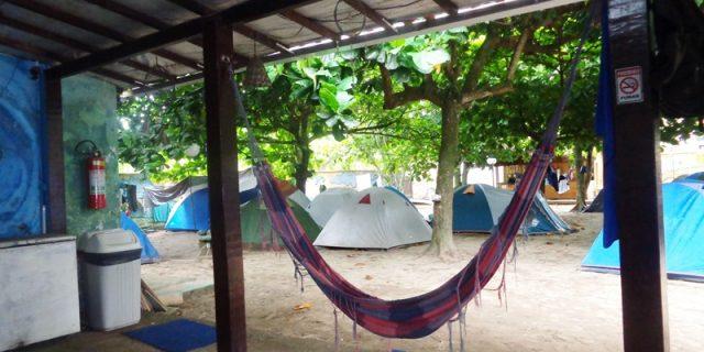 Carnaval no Alfa Camping, em Ilha Grande