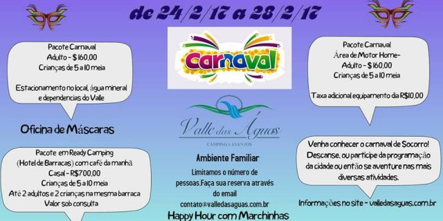 Carnaval no Valle das Águas