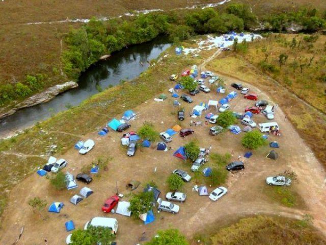 Salto Corumbá Camping Clube Hotel