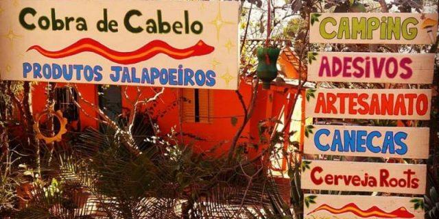Camping Cobra de Cabelo